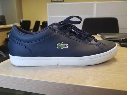 Sneakers Straight Set Leather Navy