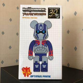 Bearbrick 200% 柯柏文 Optimus Prime 變形金剛 Transformer Bear 潮人 潮物 潮牌 Bear Be@rbrick Toy Figure Art Design Rabbrick R@bbrick Nyabrick Ny@brick 模型 擺設 收藏品 玩具 禮物 生日禮物