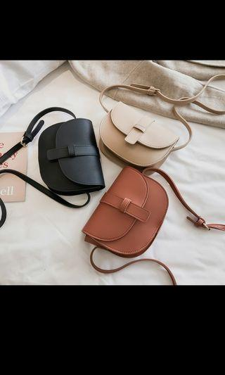 🚚 Leather classic leather sling bag