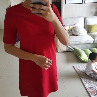 H&M Red Dress M size