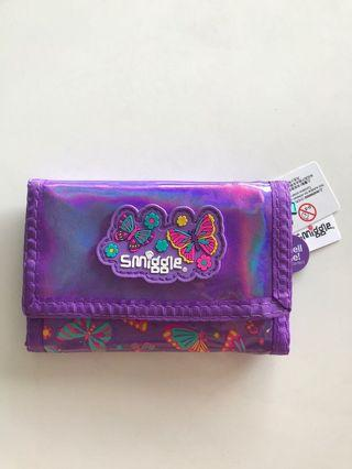 🚚 Smiggle Wallet Girl butterfly