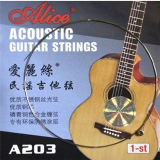 1st string E guitar string (not a complete set) free normal postage