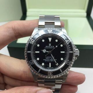 Rolex Submariner No Date Ref 14060M