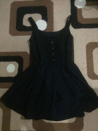 #maudandan black dress pendek