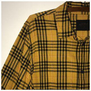 yellow checkered shirt
