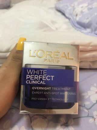 Loreal White Perfect Clinical Night Cream