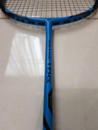 Raket Badminton Yonex Voltric 1DG Blue ORI Made in Taiwan