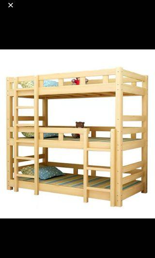 Preorder Bunk Bed.  Triple bunk bed  , double layer bed