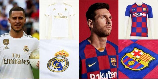 El Classico Barcelona Real Madric New Kit!