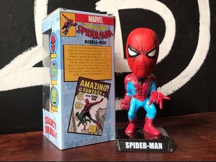 FUNKO Wacky Wobbler 蜘蛛人 Spider Man 搖頭公仔Bobble Head 漫威Marvel