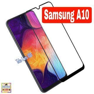 Tempered Glass Samsung A10 Warna Hitam 9D - Screen Guard