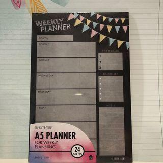 🚚 A5 Weekly Planner