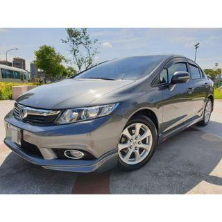 [出售] 2012年 HONDA CIVIC 喜美K14 九代