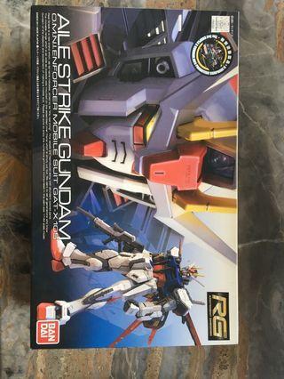 高達模型 Gundam rg mg 1/144 strike Gundam 突擊高達全新 rx-782