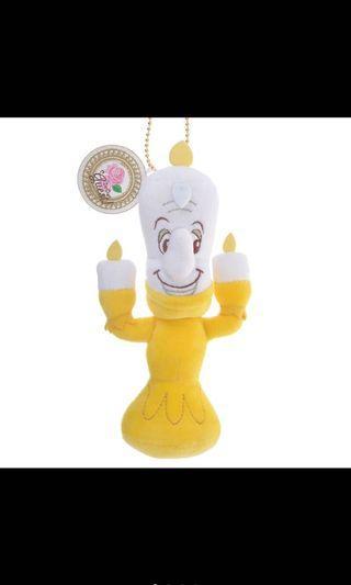 🚚 迪士尼購入 美女與野獸 蠟燭先生