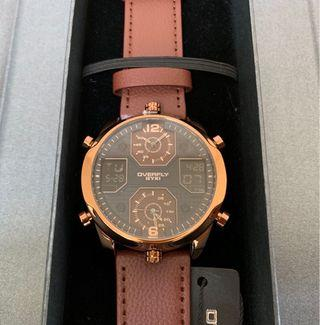 🚚 EYKI艾奇 雙顯示石英電子錶 E3096L
