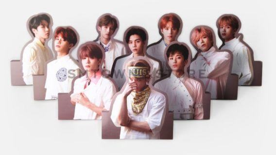 (PO) NCT127 Standee & Hologram Photocard