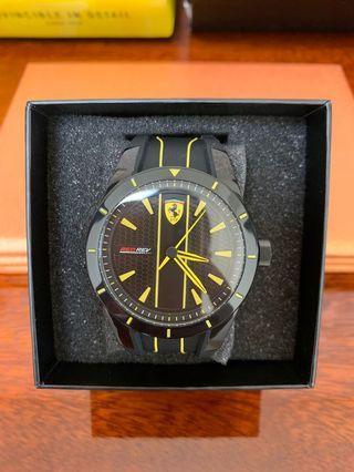 🚚 法拉利 Red Rev 賽車錶 型號:830482