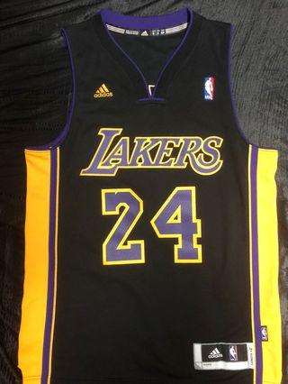 Kobe Bryant NBA LA Lakers Hollywood Nights Jersey