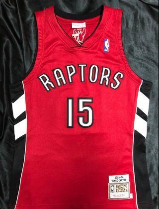 Vince Carter Toronto Raptors AU 落場版 Jersey