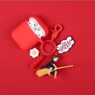 Airpods保護套 魔女宅急便掛飾/吊飾/鎖匙扣 耳機保護套 藍芽耳機 硅膠保護套 airpods case  Disneyland 迪士尼卡通 鎖匙扣 掛飾