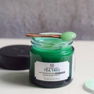 Preloved The Body Shop - Tea Tree Night Mask