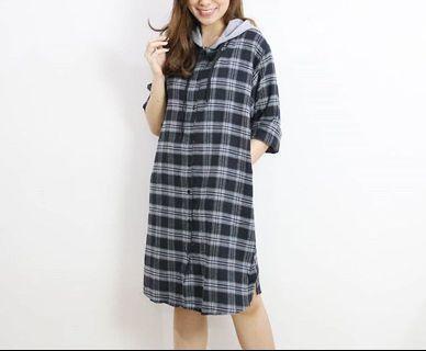 Dress Flanel Wanita FREE ONGKIR