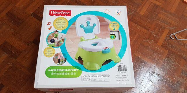 Fisher and Price potty training stool