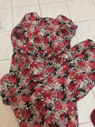 Baju Kurung Cotton moden
