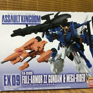 Assault Kingdom EX09 ZZ GUNDAM