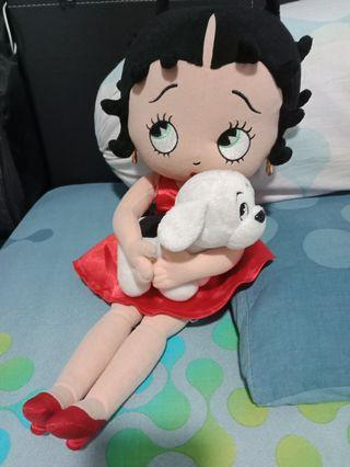 Authentic Chantilly Lane Betty Boop& Pudgy