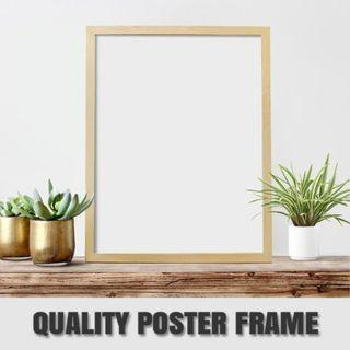 PICTURE PHOTO PINE WOOD FRAME
