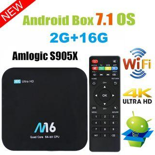 2GB RAM+16GB ROM Viden M16 Android 7.1 Smart TV Box