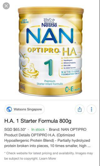 NAN Optipro 1 HA