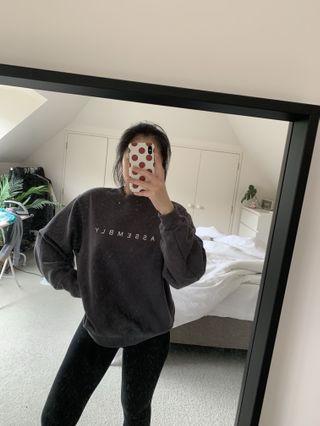 Assembly grey jumper
