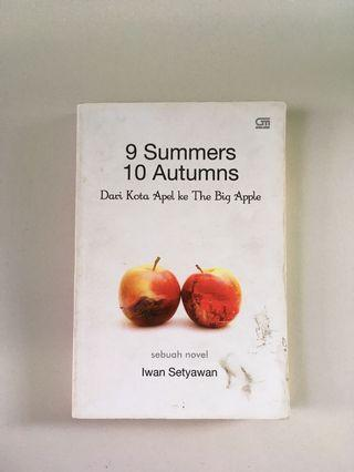 Novel 9 summers 10 autumns