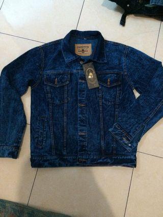 Jaket Jeans baru