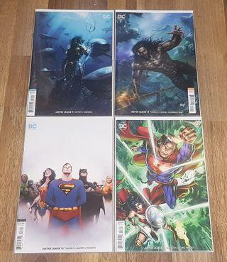 DC Comics Justice League 2018 Parrillo, Mattina, Jae Lee Variants