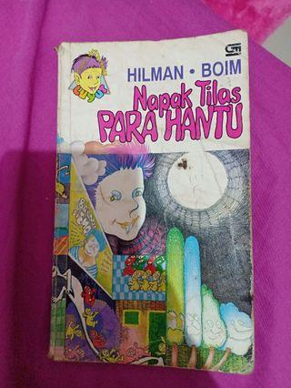 Serial Hilman Boim, Napak Tilas Para Hantu