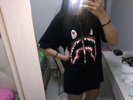 Authentic BAPE RED SHARK