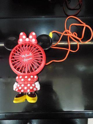 香港迪士尼minnie mouse風扇