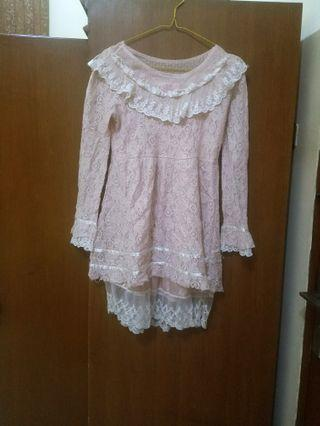 [NO BRAND] Babu Doll Lace Top