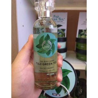 The Body Shop Fuji Green Tea Eau De Cologne Parfume