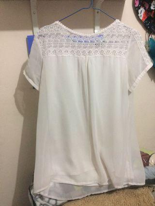 White Top baju h&m