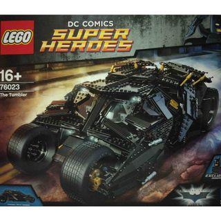 MISB Lego 76023 Super Heroes The Tumbler Batman Building Toy - 1869 pieces