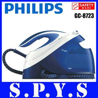 Philips GC8723 System Generation Iron. Detachable Water Tank. 1.8 Litres Capacity. Soft Grip. Safety Mark Approved. Original Philips SG Product. 2 Years Warranty.