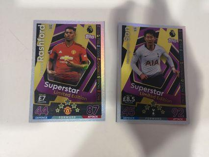 Match attax extra limited editions 2018/19 match attax