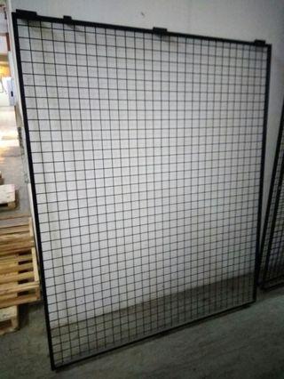 掛牆鐵網帶鐵框4
