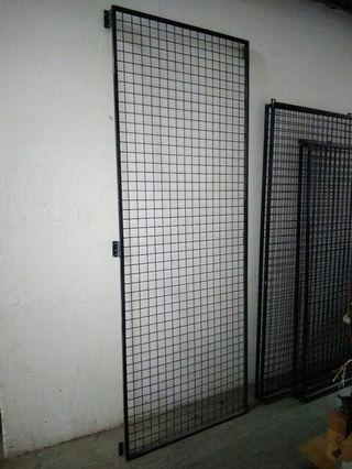 掛牆鐵網帶鐵框5