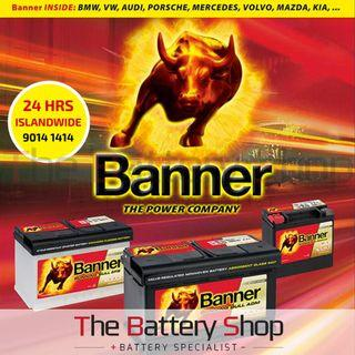 Banner Car Battery For BMW - 24Hrs Car Battery Replacement